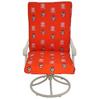 North Carolina State Wolfpack 2 pc Chair Cushion