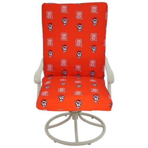 North Carolina State Wolfpack 2-Piece Chair Cushion