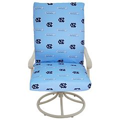 North Carolina Tar Heels 2 pc Chair Cushion