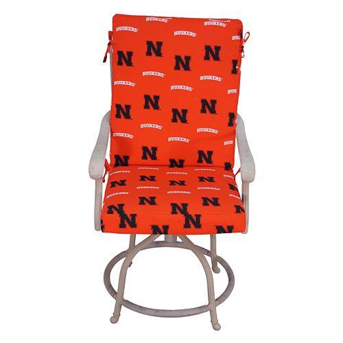 Nebraska Cornhuskers 2-Piece Chair Cushion