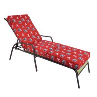 Alabama Crimson Tide 3-Piece Chaise Lounge Chair Cushion