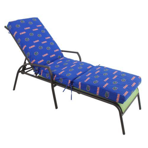 Florida Gators 3-Piece Chaise Lounge Chair Cushion