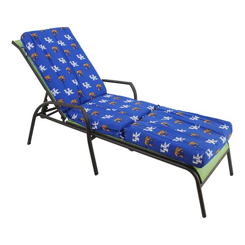 Kentucky Wildcats 3-Piece Chaise Lounge Chair Cushion