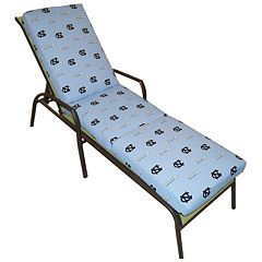 North Carolina Tar Heels 3-Piece Chaise Lounge Chair Cushion