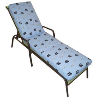 North Carolina Tar Heels 3-Piece Chaise Lounge Chair Cushion