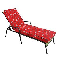 Ohio State Buckeyes 3-Piece Chaise Lounge Chair Cushion