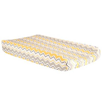 Trend Lab Buttercup Zigzag Chevron Changing Pad Cover