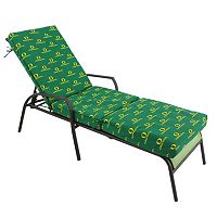 Oregon Ducks 3-Piece Chaise Lounge Chair Cushion
