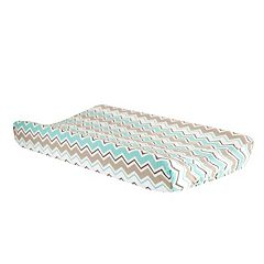 Trend Lab Seashore Waves Chevron Changing Pad Cover