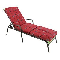 South Carolina Gamecocks 3-Piece Chaise Lounge Chair Cushion