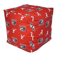 Alabama Crimson Tide Cushion Cube Pouf