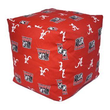 Alabama Crimson Tide Cushion Cube Pouf