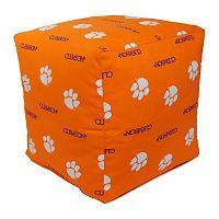 Clemson Tigers Cushion Cube Pouf