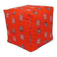 North Carolina State Wolfpack Cushion Cube Pouf