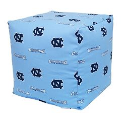 North Carolina Tar Heels Cushion Cube Pouf