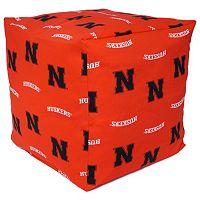 Nebraska Cornhuskers Cushion Cube Pouf
