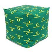 Oregon Ducks Cushion Cube Pouf