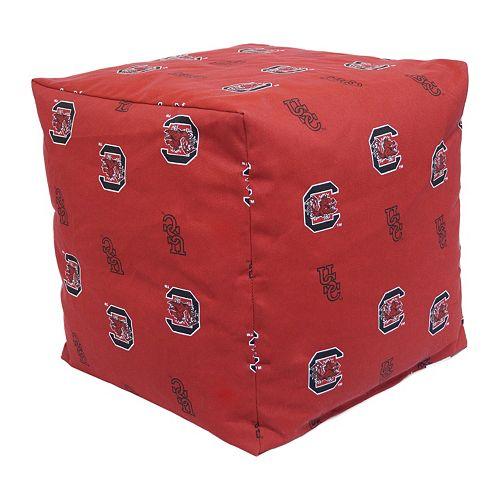 South Carolina Gamecocks Cushion Cube Pouf