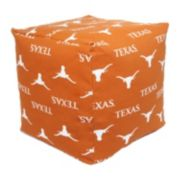 Texas Longhorns Cushion Cube Pouf