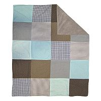 Trend Cocoa Mint Receiving Blanket