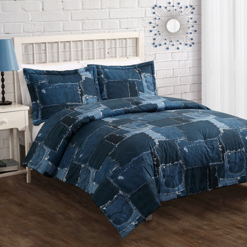 Jean Comforter Bedding Jean Patch Comforter Set