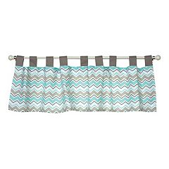 Trend Lab Seashore Waves Window Valence