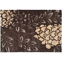 Safavieh Shag Floral Leaf Rug