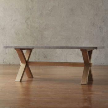 HomeVance Cassandra Driftwood Coffee Table
