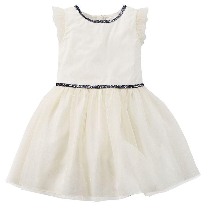 Carter's Tulle Glitter Dress - Girls 4-8