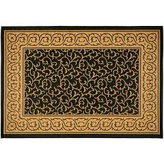 Safavieh Courtyard Vines Scroll Indoor Outdoor Rug