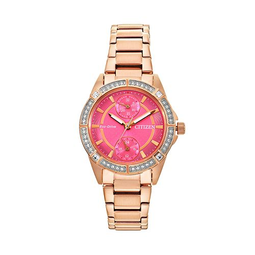 Drive from Citizen Eco-Drive Women's POV Stainless Steel Watch