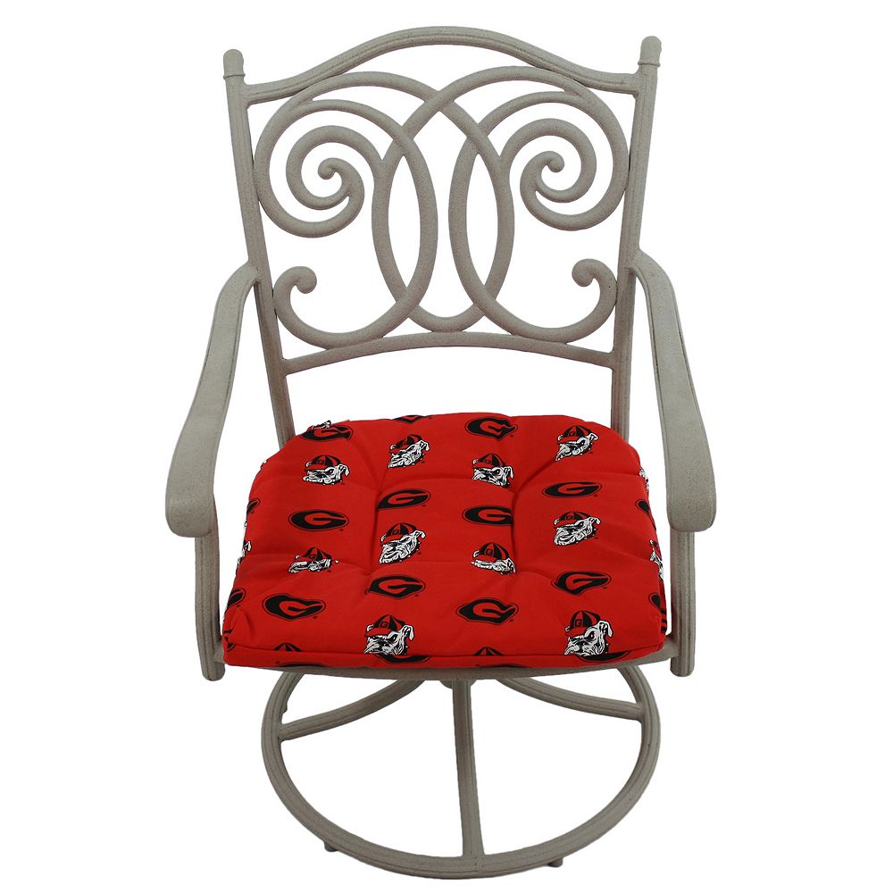 Georgia Bulldogs D Chair Cushion
