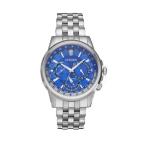 Citizen Eco-Drive Men's Calendrier Stainless Steel Watch - BU2021-51L