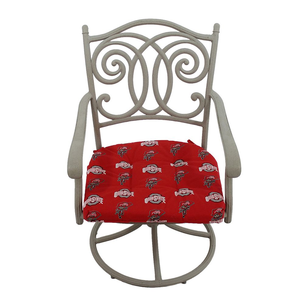Ohio State Buckeyes D Chair Cushion