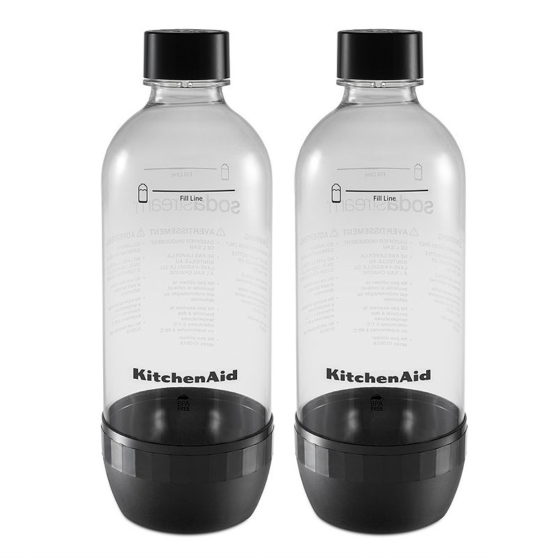KitchenAid KSS2023OB 2-pk. Reusable Carbonating Bottles