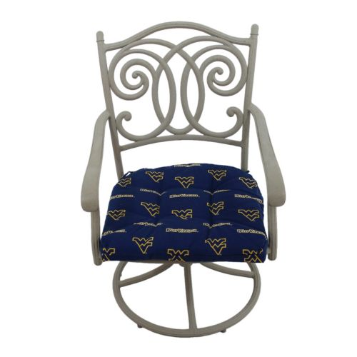 West Virginia Mountaineers D Chair Cushion