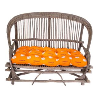 Clemson Tigers Settee Cushion