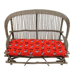Georgia Bulldogs Settee Cushion