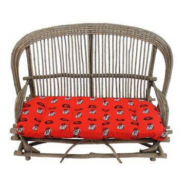 Georgia Bulldogs Settee Cushion