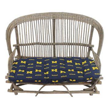 Michigan Wolverines Settee Cushion