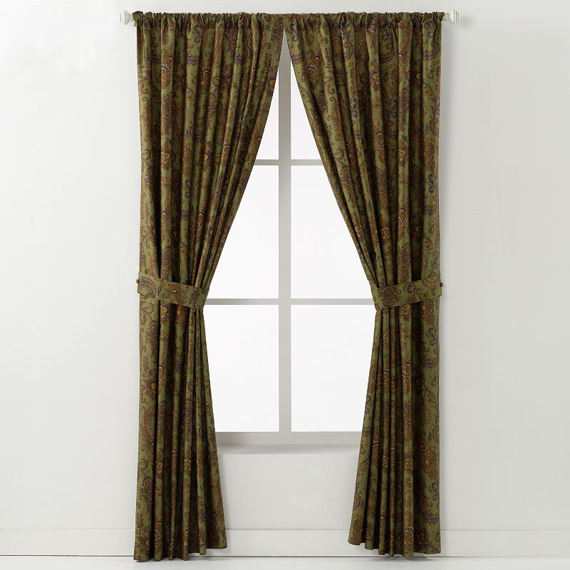 Chaps Home Beekman Place 2-pk. Curtains - 42'' x 84''