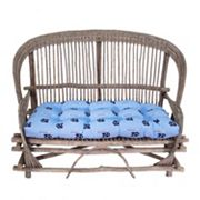 North Carolina Tar Heels Settee Cushion
