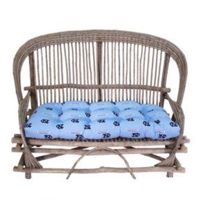 North Carolina Tar Heels Settee Cushion