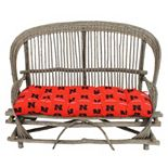 Nebraska Cornhuskers Settee Cushion
