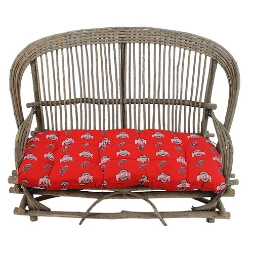 Ohio State Buckeyes Settee Cushion