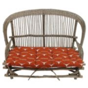 Texas Longhorns Settee Cushion
