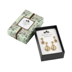 Downton Abbey Teardrop Earring Set