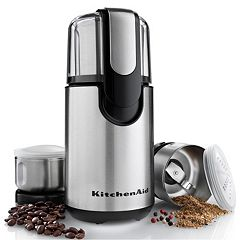 KitchenAid BCG211OB Stainless Steel Coffee & Spice Grinder