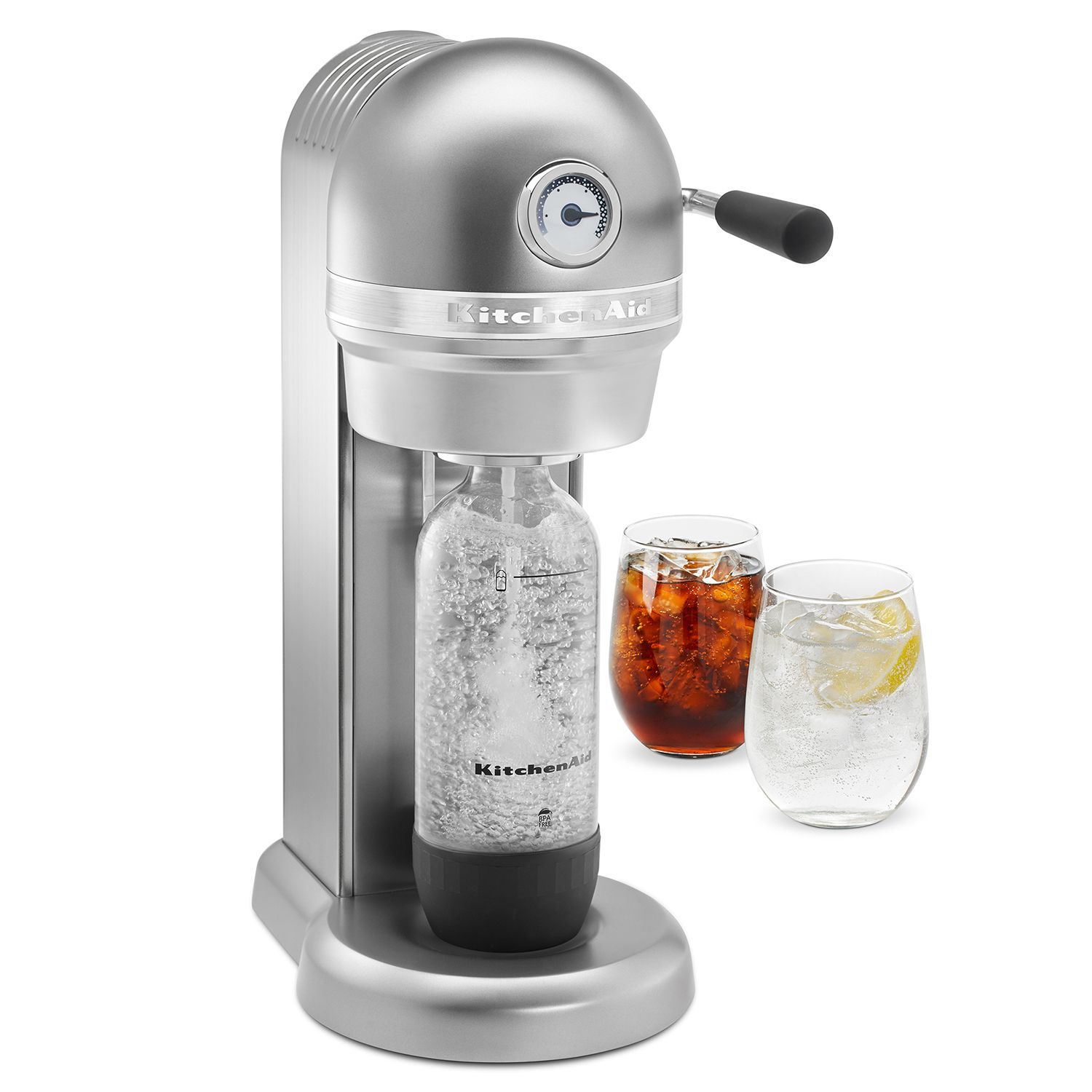 kitchenaid kss1121 sparkling beverage maker powered by sodastream soda maker - Soda Maker