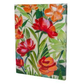Essential Designs ''Orange Flowers'' Canvas Wall Art